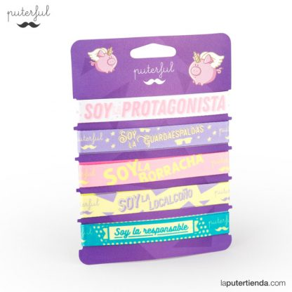 Set de 5 pulseras - puterful