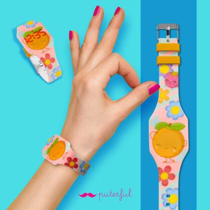 reloj naranja-principal