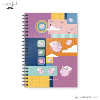 Cuaderno Puterful Cerdi 01