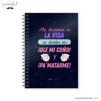 Cuaderno Puterful Decisiones 01