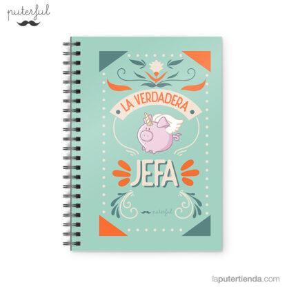Cuaderno Puterful Jefa 01