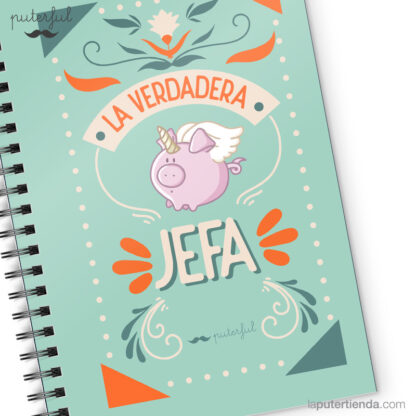 Cuaderno Puterful Jefa 03