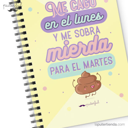 Cuaderno Puterful Lunes 03