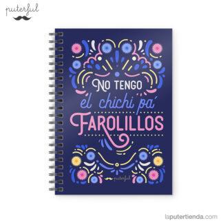 Cuaderno Puterful No Tengo 01