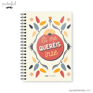 Cuaderno Puterful Si Me 01