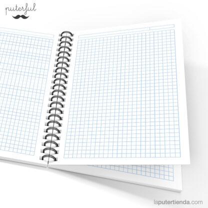 Cuaderno Puterful Si Me 04