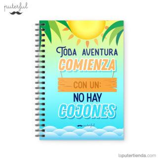Cuaderno Puterful Toda Aventura 01