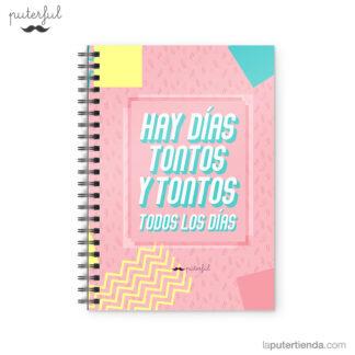 Cuaderno Puterful Tontos 01