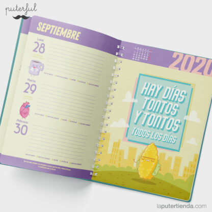 agenda escolar Puterful