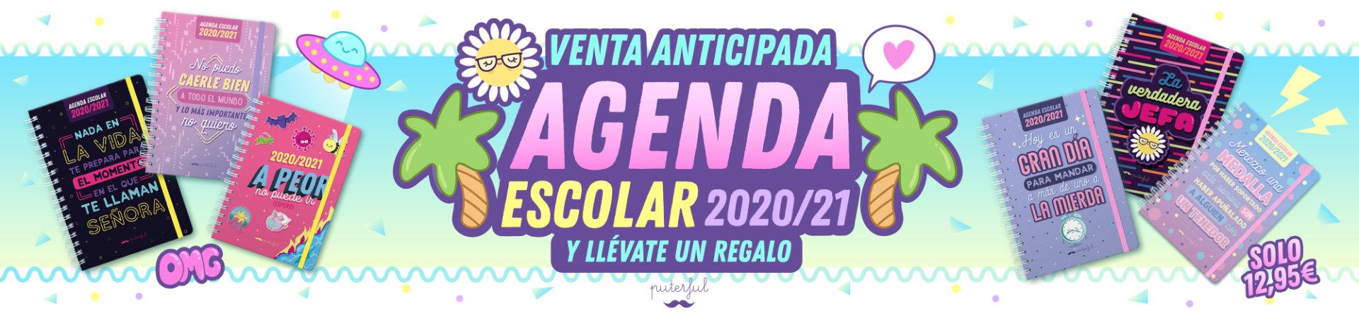 Preventa Agenda Escolar Puterful 20/21