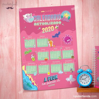 Calendario Puterful actualizado 2020