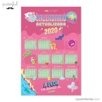 Calendario actualizado 2020 Puterful
