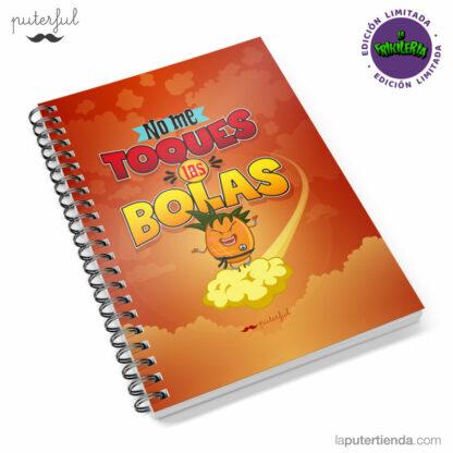 Cuaderno - FR - No me toques las bolas
