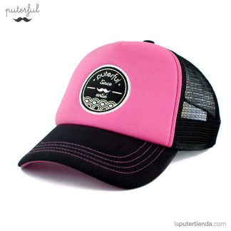 Gorra Puterful Rosa