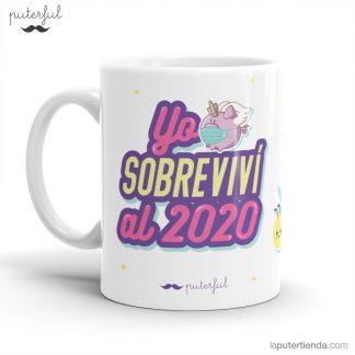 taza - yo sobreviví al 2020