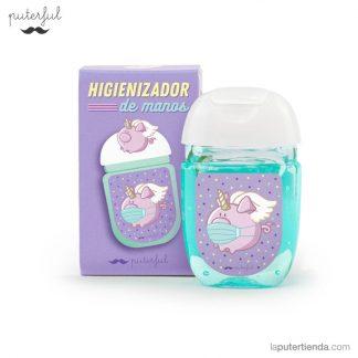gel de manos - higiniezador pequeño - cerdicornio