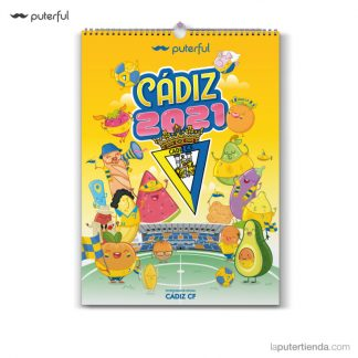 Calendario Cádiz CF 2021 - puterful