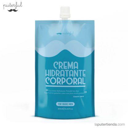 Crema hidratante corporal para hombre - puterful