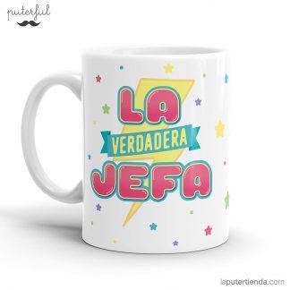TAZA LA VERDADERA JEFA