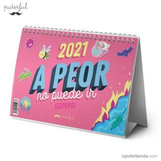 Calendario sobremesa 2021 - puterful