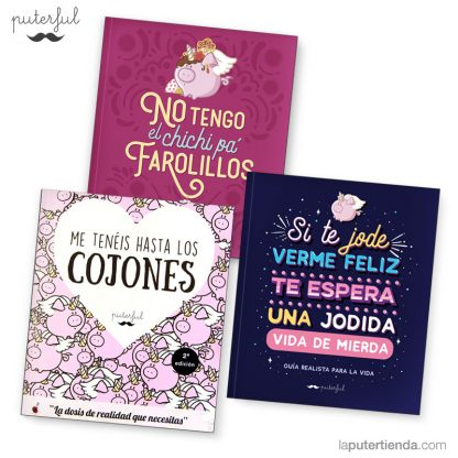 Pack tres libros puterful