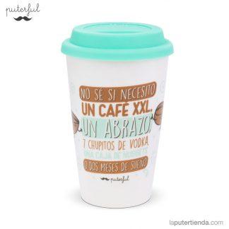 Vaso take away - No sé si necesito un café