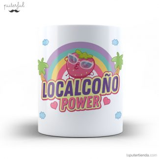 TAZA LOCALCOÑO POWER FRESA