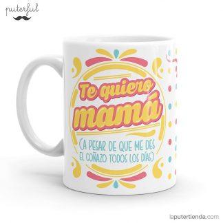 taza - te quiero mama