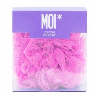 MOI Esponja de baño - Rosa