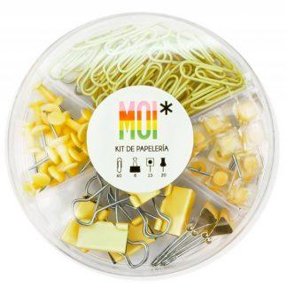MOI Kit papelería - Amarillo