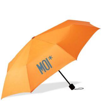MOI* Paraguas plegable naranja