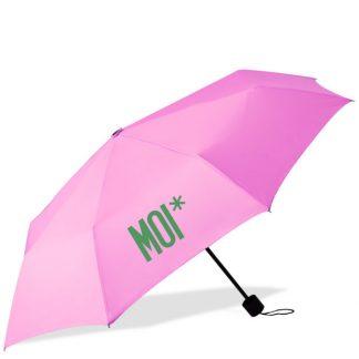 MOI* Paraguas plegable rosa
