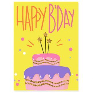 MOI* Party tarjeta de felicitación Happy Bday