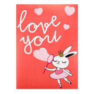 MOI* Party tarjeta de felicitación Love you