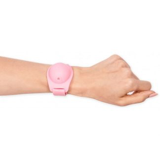 MOI* Safe Pulsera dispensadora rosa