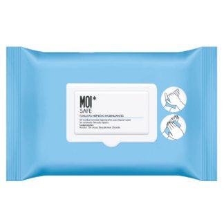 MOI* Safe toallitas húmedas higienizantes