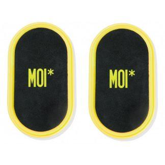 MOI* Sport discos deslizantes amarillos