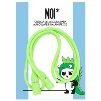 MOI cuerda silicona - Verde