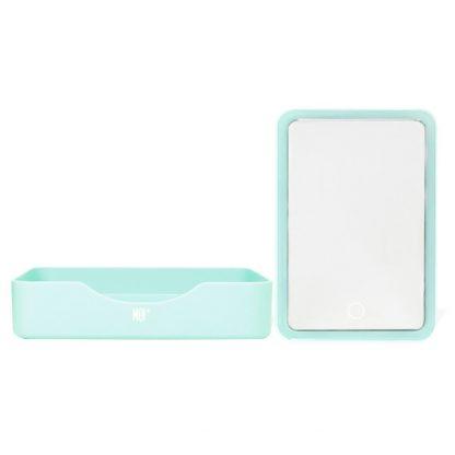 MOI espejo rectangular con Led - Verde