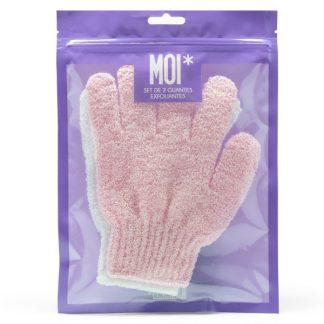 MOI guantes exfoliantes