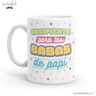 taza - recipiente babas de papi