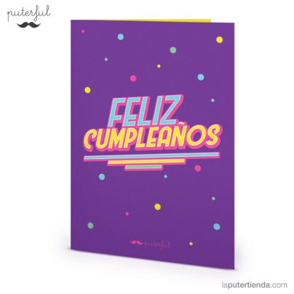 Tarjeta - cumpleaños
