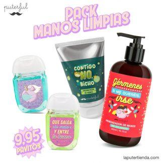 Pack higienizadores - Manos limpias