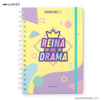 agenda escolar puterful reina del drama